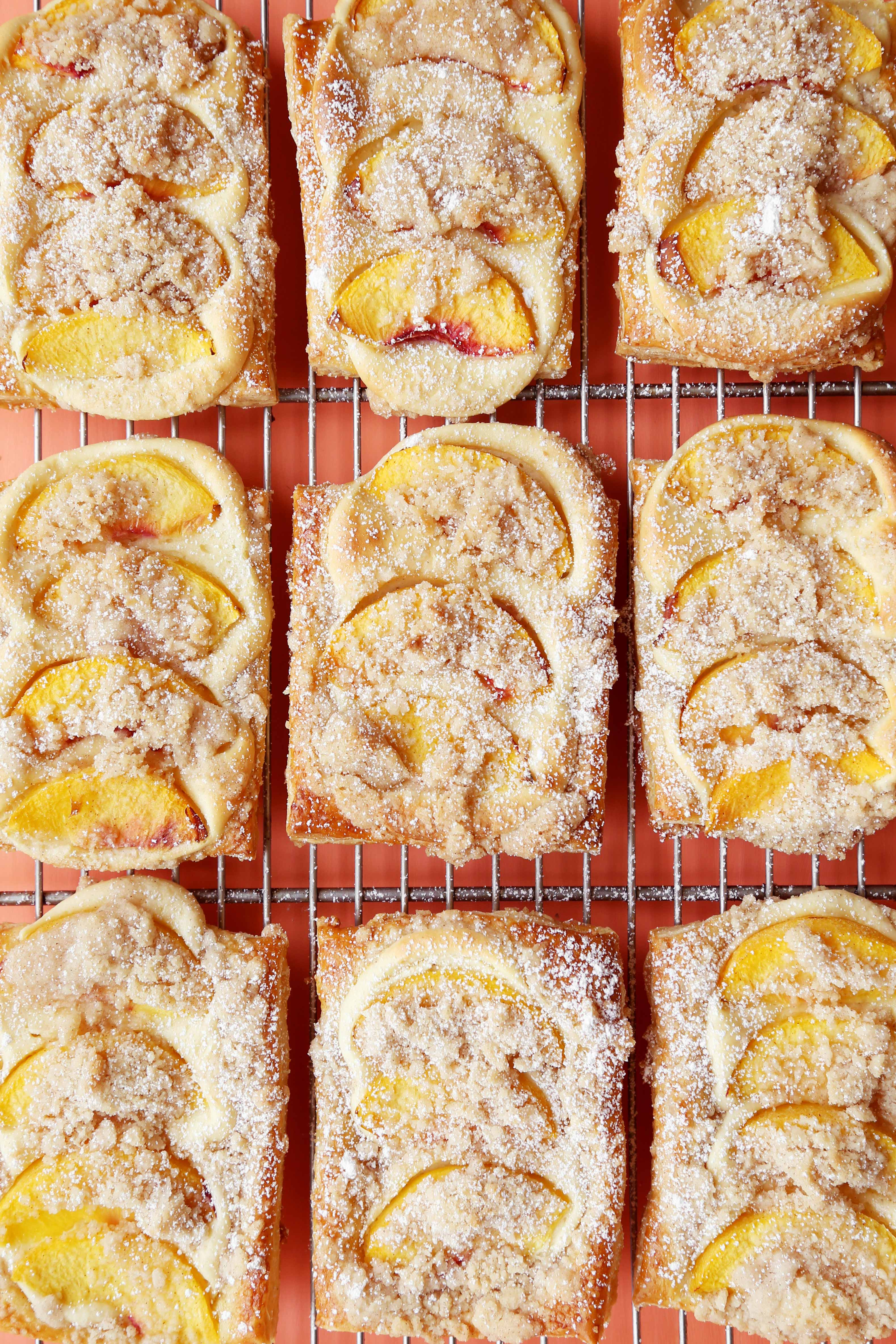 """Peaches and Cream"" Cheese Danish"