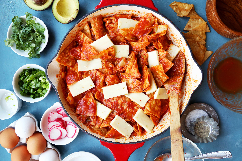 Kimchi Chilaquiles