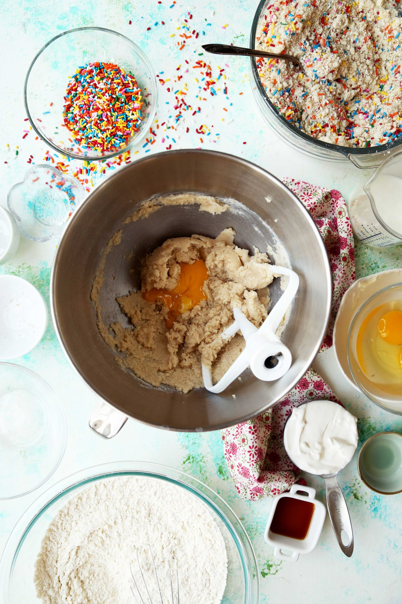 Birthday Coffee Cake Muffins