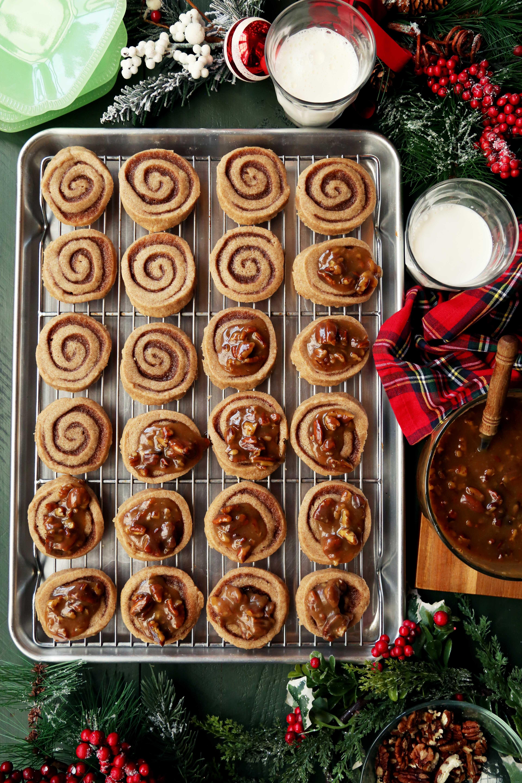 Pecan Sticky Bun Cookies