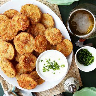 Buttermilk Chicken Fried Potatoes