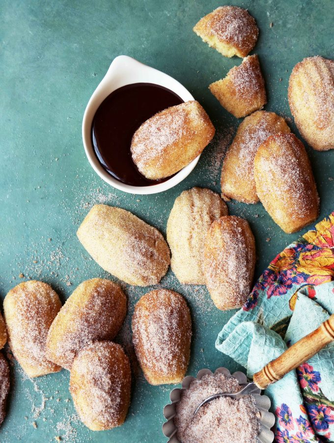 Churro Madeleines