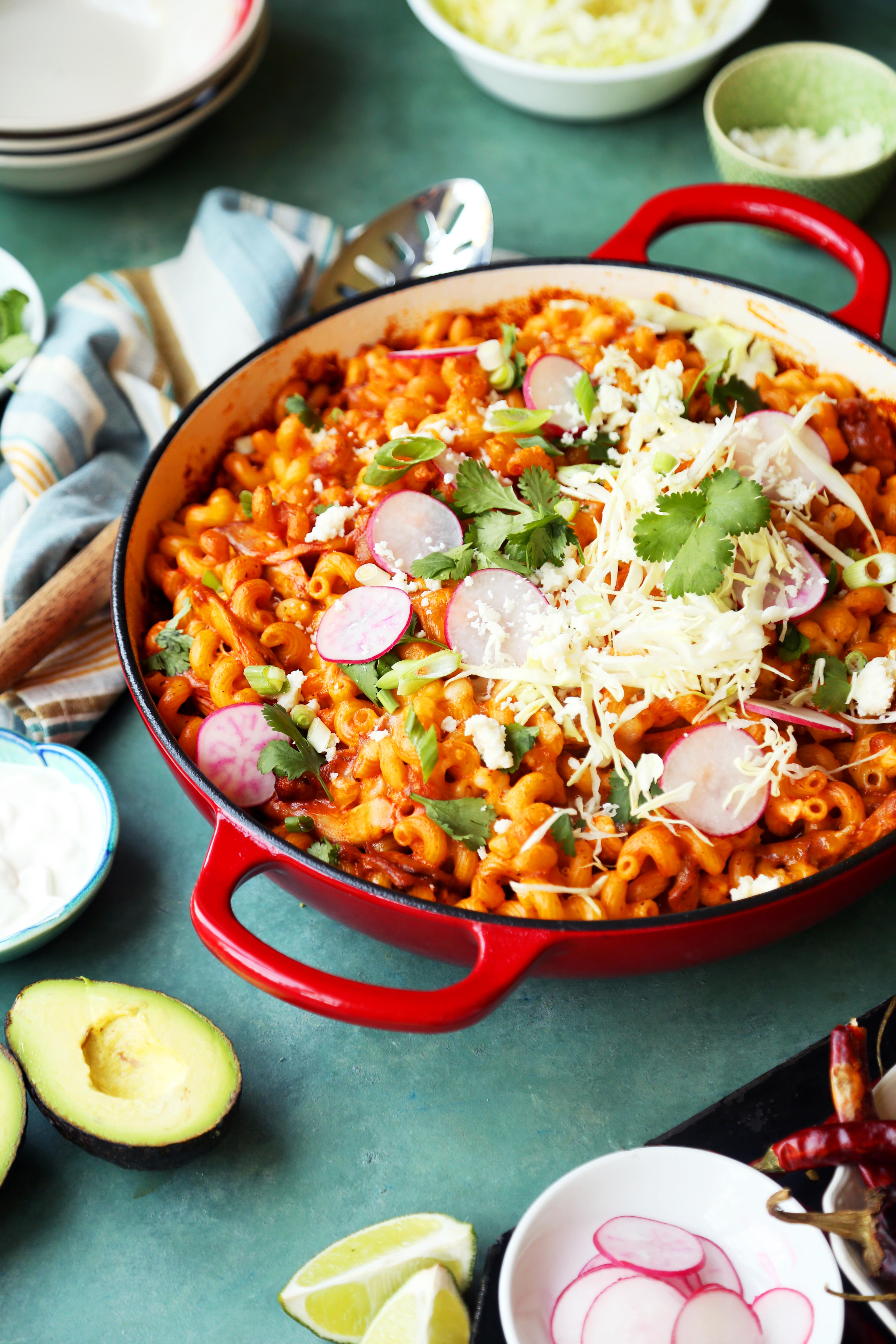 Pozole Mac and Cheese
