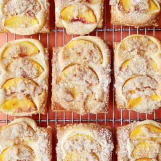 """""""Peaches and Cream"""" Cheese Danish"""