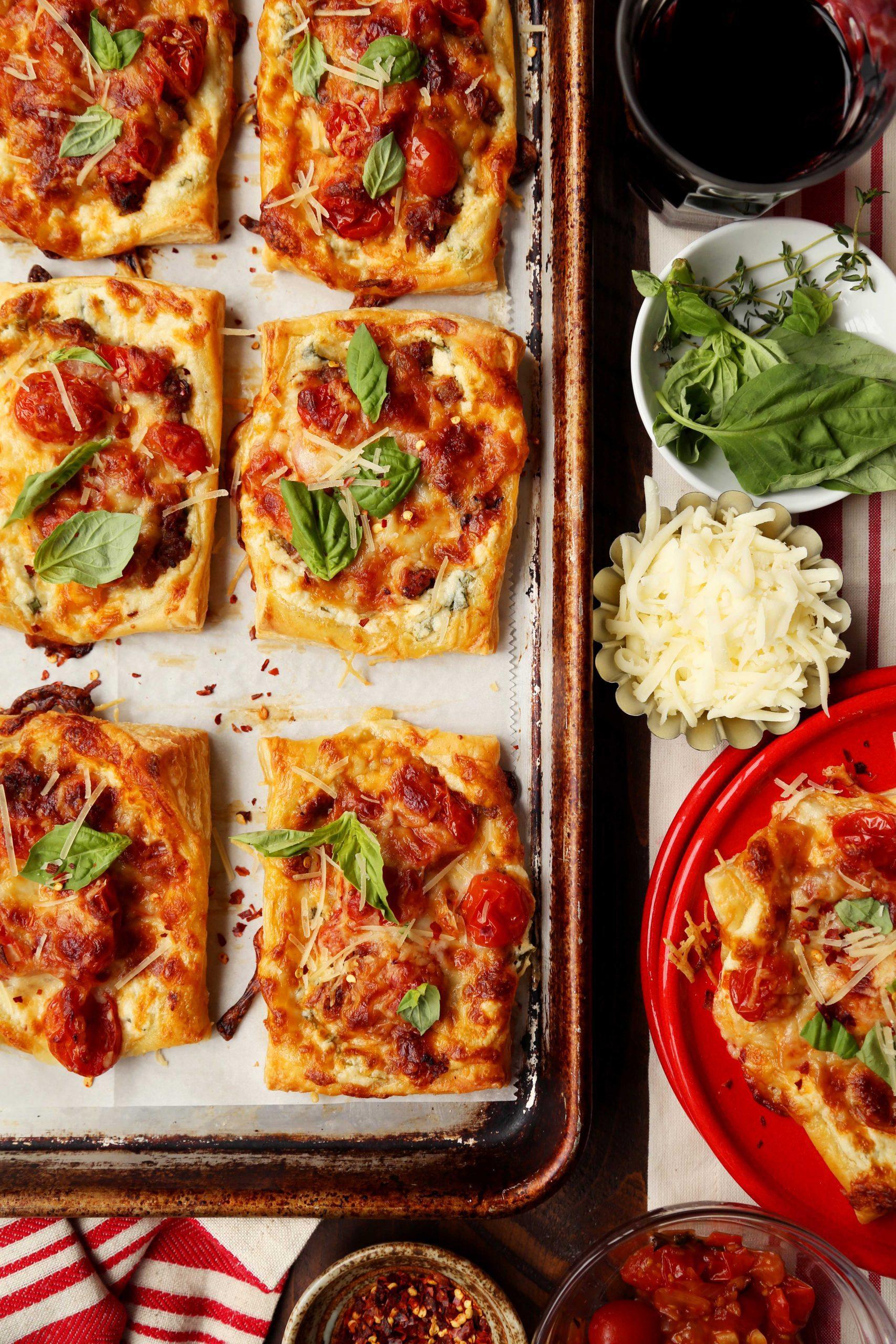 Lasagna Tarts