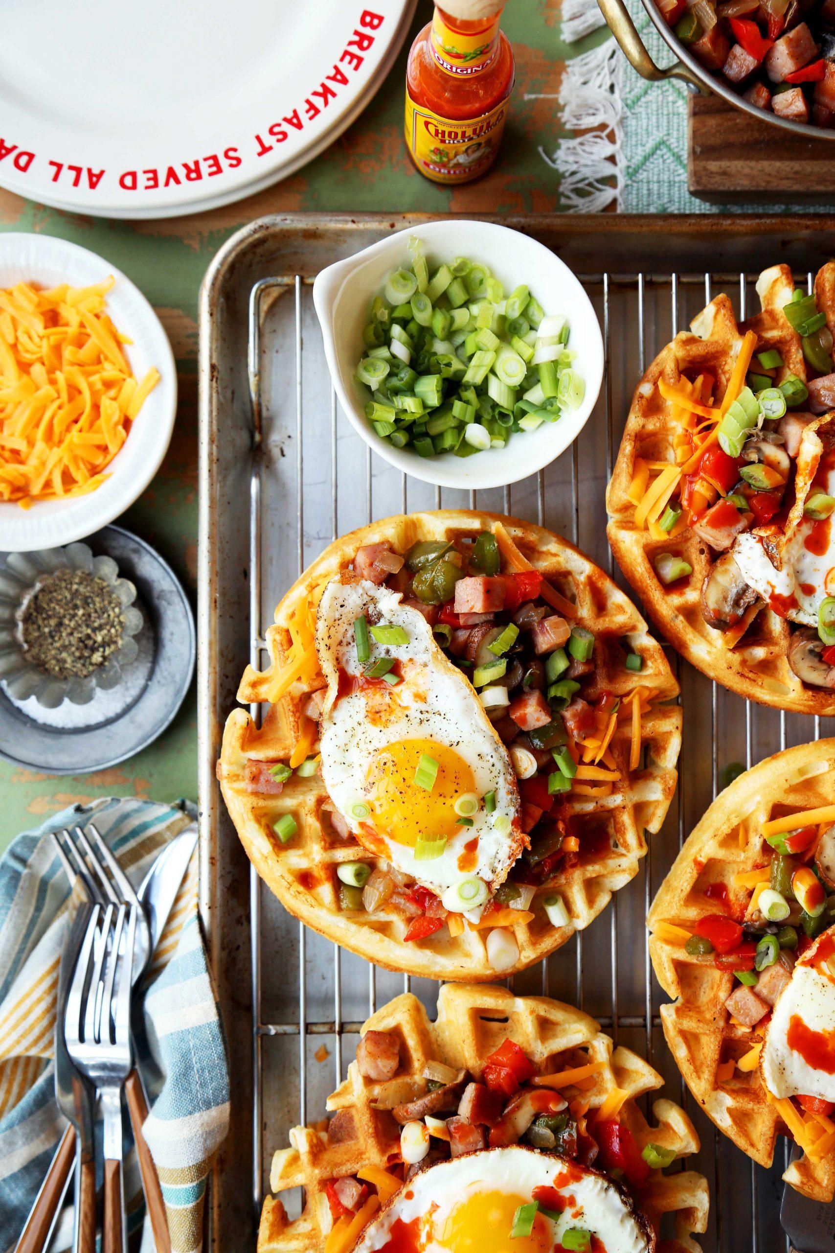 Denver Omelette Waffles