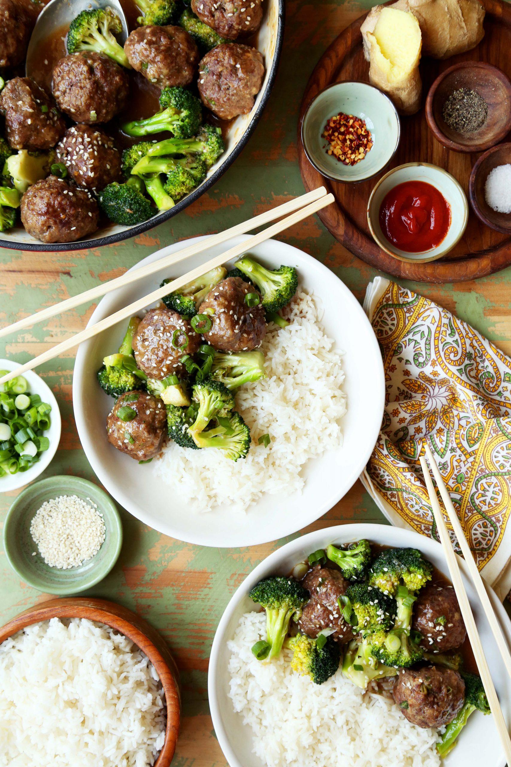 Meatball Beef and Broccoli