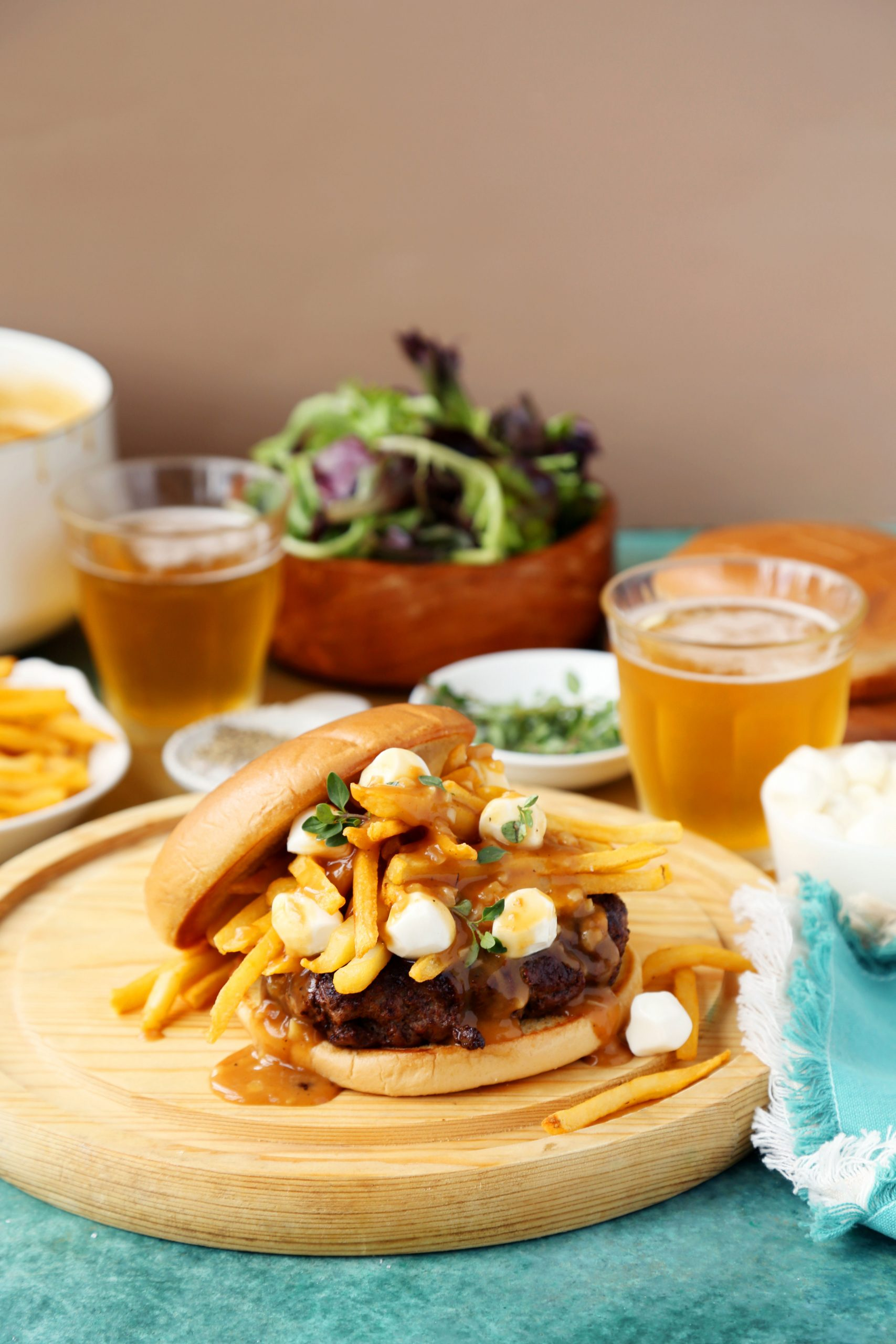 Poutine Butter Burgers